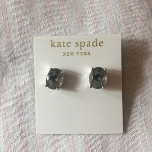 Kate Spade Gray Jewel Earring